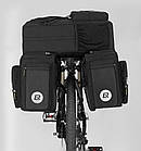 """Велосумка на багажник """"штаны"""" 3 в 1, фото 4"""