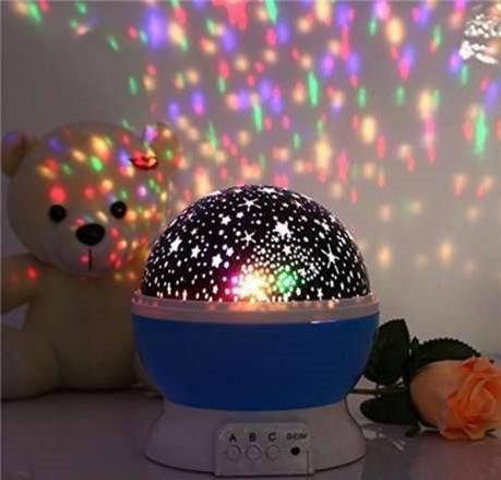 Детский ночник Star Master Dream Rotating проектор звездного неба. Купить онлайн, заказать в интернет-магазине, доставка по Украине