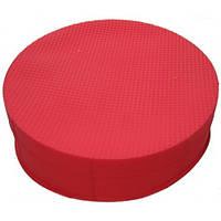Силиконовая форма круглая для торта средняя 21 см
