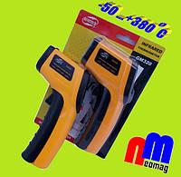 Пирометр BENETECH GM320, бесконтактный лазерный термометр ✪-50...+380С✪ ОРИГИНАЛ✪