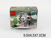 "Конструктор ""Brick - Мотоцикл"", 20 дет., в кор. 9х4х7 /300/"