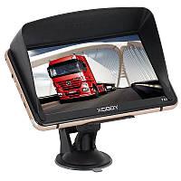 GPS-навигатор Xgody 740 Truck GPS 128 МБ 8 ГБ Beige/Black