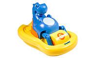 Детская игрушка поющий гиппопотам на катамаране Томи