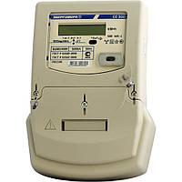 Счётчик электроэнергии однотарифный се 300 s33 145 j, для трехфазных сетей, жк-индикатор, оптический интерфейс