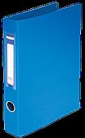 Папка регистратор на 2-х кольцах А4 buromax bm.3101-02 синяя ширина торца 40мм