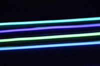 Образцы светящегося шнура Lunabrite, размер S