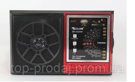 Радио RX 132, Портативный радиоприемник, Всеволновой приемник, Радио с USB, Радио FM, MP3 Колонка