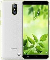 "Homtom S12 white-green 1/8 Gb, 5"", MT6580, 3G, фото 1"