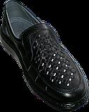 Літні туфлі з натуральної шкіри Тигина, фото 2