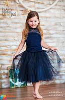 Юбка из евросетки Baby angel 880-01, цвет синий
