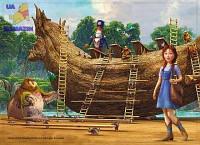 Пазлы детские Страна Оз, 120 элементов