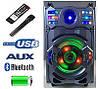 Акустика протативная с радио-микрофоном A12-11 USB/Bluetooth/120W ( Реплика ), фото 4
