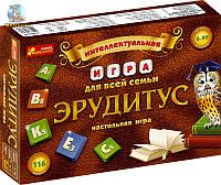 """Настольная интеллектуальная игра """"Эрудитус"""""""