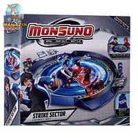 Арена Monsuno Strike Sector Combat Set сборная