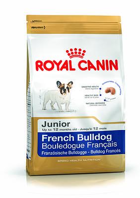 Royal Canin корм для французского бульдога до 12 месяцев 1 кг