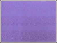 Мат для Айсинга (коврик) Цветочный бордюр