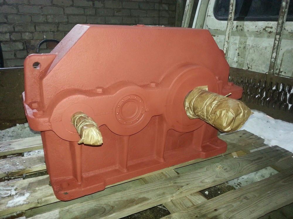 Цилиндрические редукторы 1Ц2У-500-20