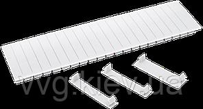 Заглушка 12 модулей IEK белая