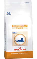 Для пожилых кошек от 10 лет  Royal Canin Vet Cat Senior Stage-2, 1,5 кг