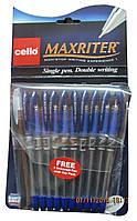 "Ручка шариковая ""Cello Maxriter F"" оригинал, синяя"