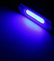 Светодиодный LED модуль COB B синий герметичный IP65
