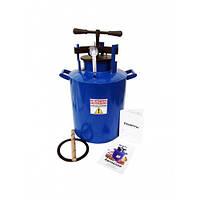 Автоклав для домашнего консервирования газовый (20шт по 0,5л или 12шт по 1,0л )