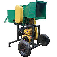 Подрібнювач гілок з бензиновим двигуном