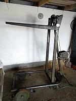 Штабелер погрузчик (600 кг 2 м) с лебедкой