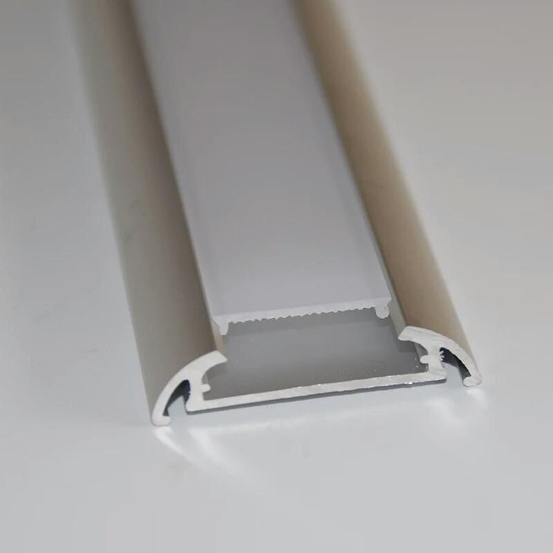 Профіль для світлодіодної стрічки YF120 (2м) з розсіювачем, анодований