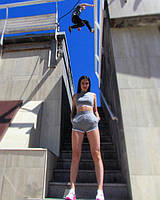 ФУТБОЛКА W NSW TOP CROP AIR 893068-091, ШОРТЫ W NSW SHORT HW ARCHIVE 893642-091