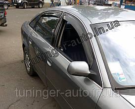 Ветровики, дефлекторы окон Audi A-6 (С5) 1997-2004г. (ANV)