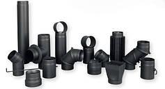 Стальные трубы для дымохода(черные)