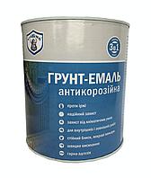 Грунт-эмаль антикорозийная  (3 в 1) VIKKING 0,85 кг,(черная)