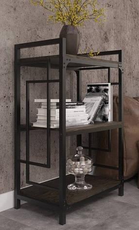 Стеллаж Квадро 3 полки ТМ Металл Дизайн, фото 2