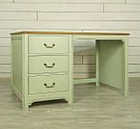 """Письменный деревянный стол """"Эрнест"""" от производителя, фото 4"""