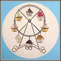 Стенд для кексов Карусель на 8 кексов, фото 1
