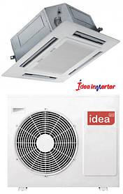 Кондиционер IDEA ICC-36HR-PA6-DN1 Инвертор кассетный