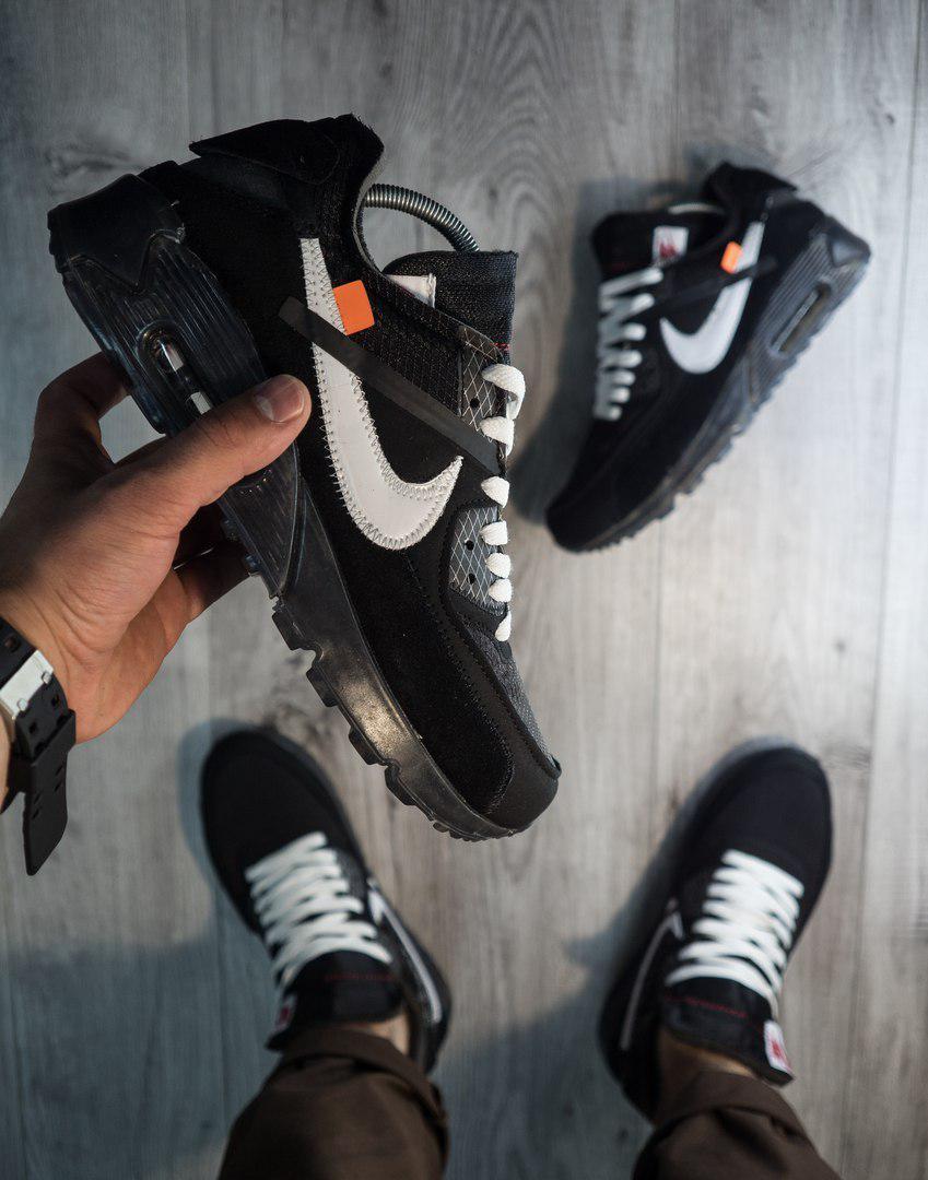 Мужские кроссовки Nike Air Max 90, топ Реплика