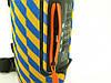 JBL XTREME 13 small Bluetooth колонка 40W с FM MP3 копия, синяя с желтым, фото 4
