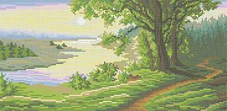 Схема для вышивания бисером Чудная долина БИС3-177 (А3)