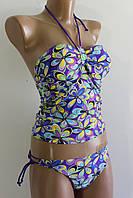 Жіночий купальник фіолетовий 5041