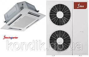 Кондиционер IDEA ICC-48HR-PA6-DN1 Инвертор кассетный