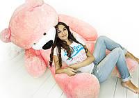 """Ведмідь-велетень сидячий """"Бублик"""" 180 див.(рожевий)"""
