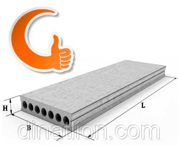 Залізобетонні панелі перекриття ПК 21-12-8
