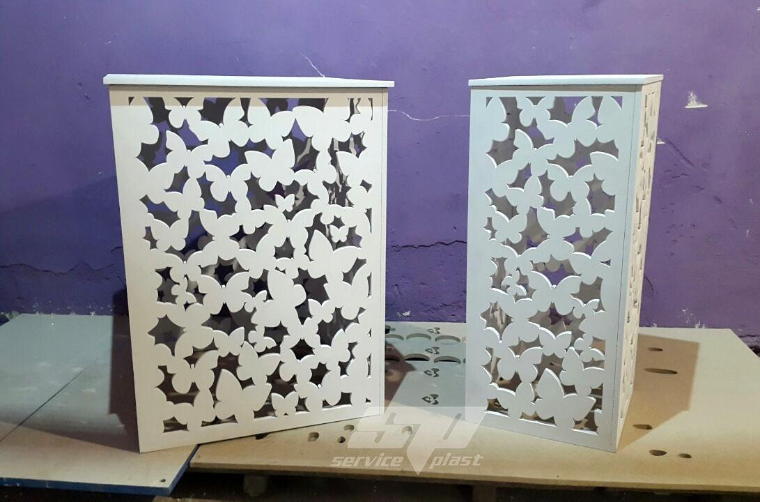 """Ажурные свадебные колоны, тумбы, подставки серии """"Бабочки"""""""