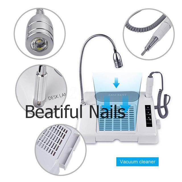 Многофункциональное оборудование Salon Expert Nail Machine( фрезер,лампа и вытяжка)