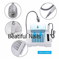 Многофункциональное оборудование Salon Expert Nail Machine( фрезер,лампа и вытяжка), фото 1