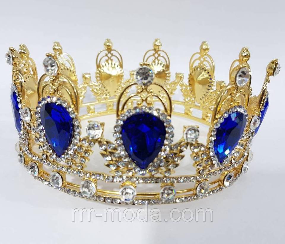 200 Элитные свадебные короны. Золотые диадемы оптом в Украине. - Бижутерия  оптом «R. R. R. 6a4e58d7746