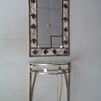 Набор зеркало столик средний