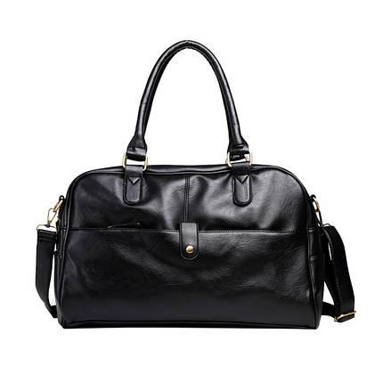 Дорожная сумка мужская BritBag CL черная, фото 2